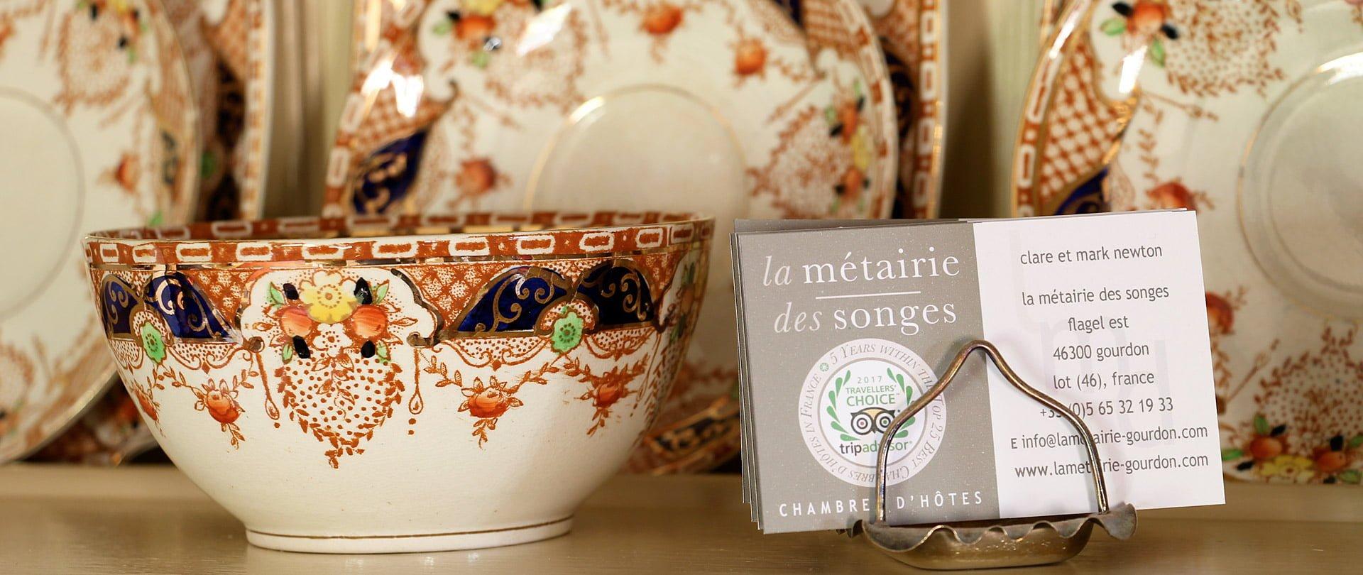 Book la Métairie des Songes