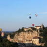 The Montgolfiades of Rocamadour 2017